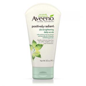 Aveeno skin brightening daily scrub -