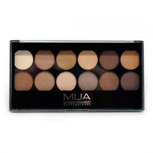 MUA Eyeshadow Palette - Heaven And Earth