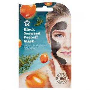Superdrug Black Seaweed Peel Off Mask 10ml