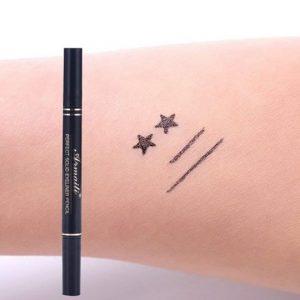 KAYI Star Shape Stamp Eyeliner 2 in 1 Waterproof Eyeliner Pen