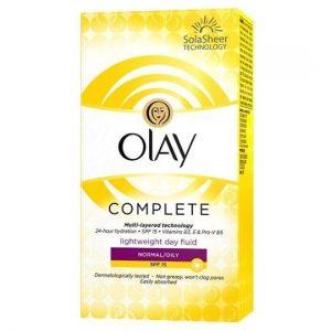 Olay Complete Moisturiser Fluid Normal/Oily 100ml