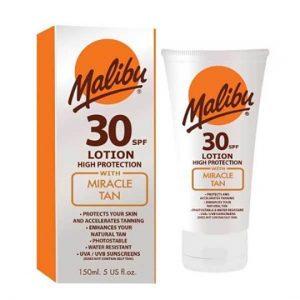 Malibu Miracle Tan SPF30 Lotion 150ml