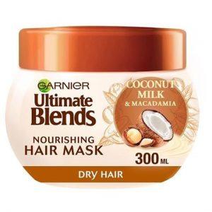 Garnier Ultimate Blends Coconut Milk Dry Hair Mask 300ml