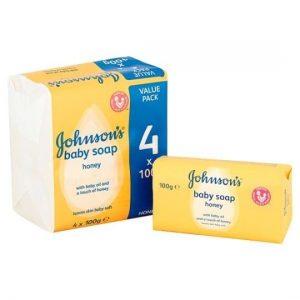 Johnsons Baby Soap x4