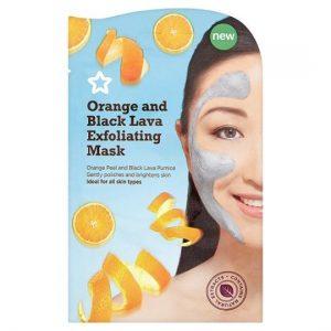 Superdrug Orange and Lava Exfoliating Mask