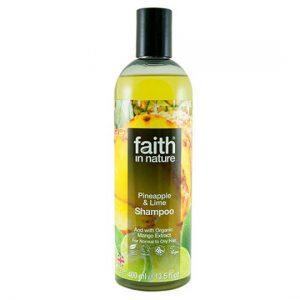 Faith natural shampoo for all hair types