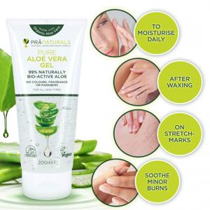 Aloe Vera Gel - Repair Soothing & Cooling Moisture gel - Ultra Hydrating Skin -